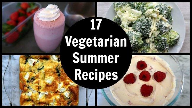 17 Easy Vegetarian Summer Recipes