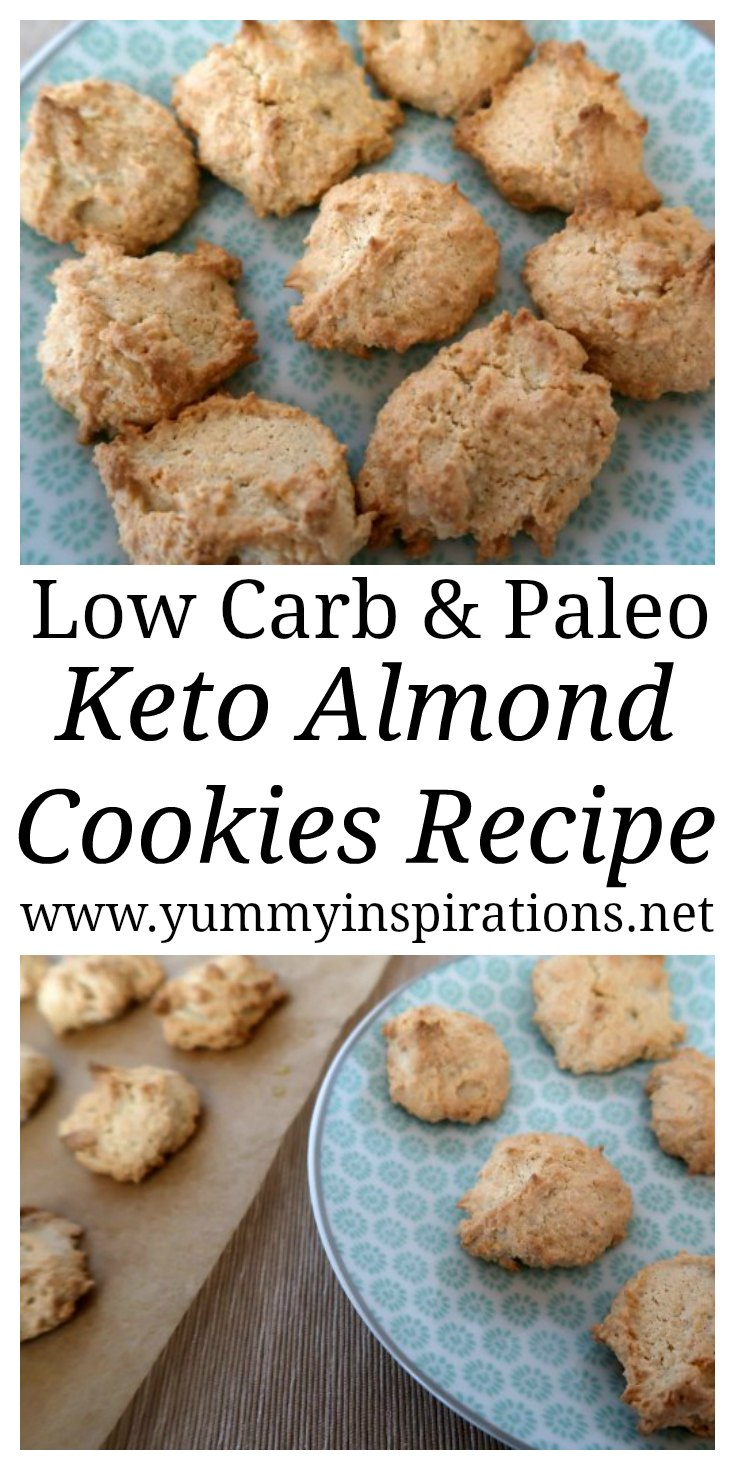 Keto Almond Cookies Recipe Easy Low Carb Cookie Recipes