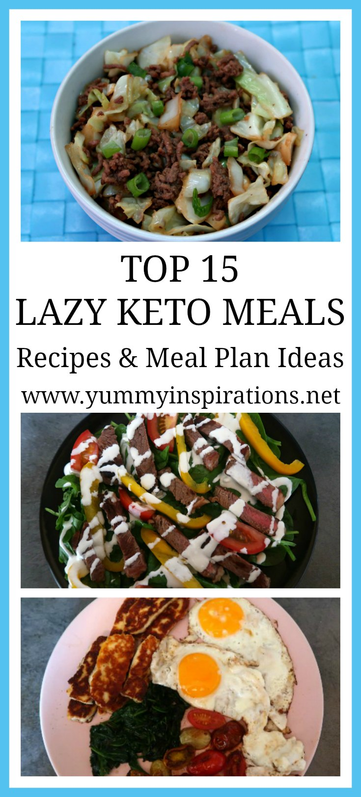 Top 15 Lazy Keto Meals Easy Low Carb Amp Ketogenic Diet Recipes