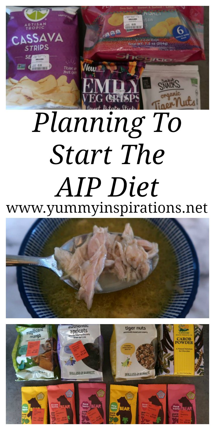 Planning To Start AIP Diet - My plan about how to start the Autoimmune Protocol Diet with a list of foods, meal prep and getting mentally prepared.