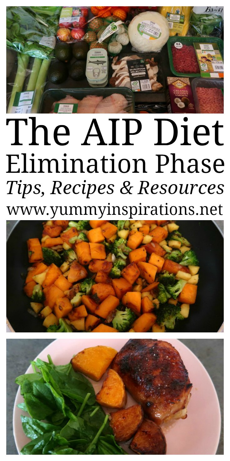 AIP Diet - My experience of planning, prepping and following the Autoimmune Protocol Diet as well as AIP Diet Recipes for breakfast, lunch, dinner and snacks.