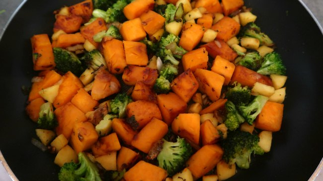 AIP Diet Recipes - Breakfast hash with sweet potatoes