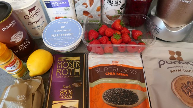 Keto Smoothie Ingredients