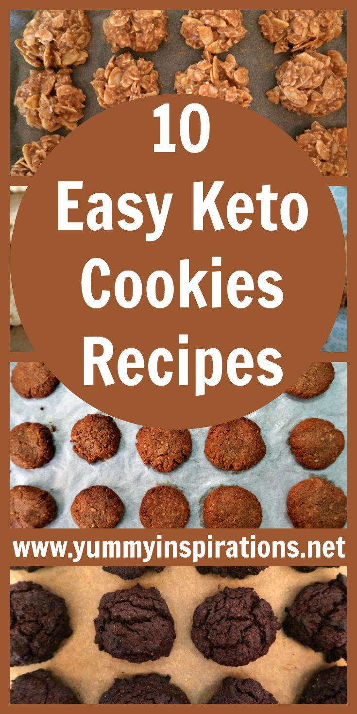 10 Easy Keto Cookies Recipes Low Carb Cookie Ideas