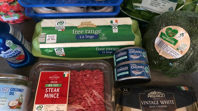Haul of the top 10 keto foods to buy and eat from ALDI