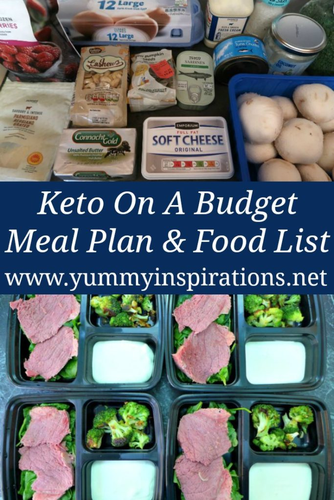 Keto Budget Meal Plan Low Carb Recipes Grocery List For Beginners