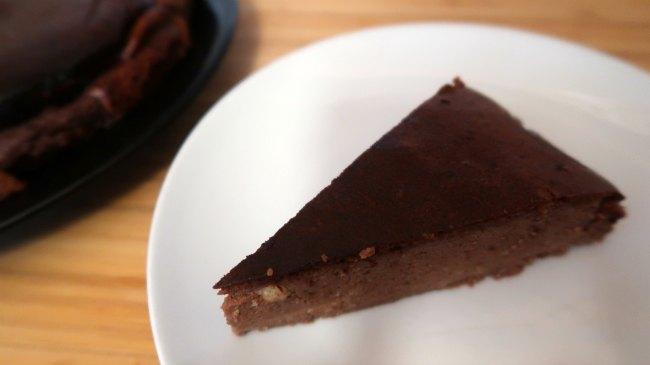 Keto chocolate cheesecake recipe - easy no crust low carb dessert