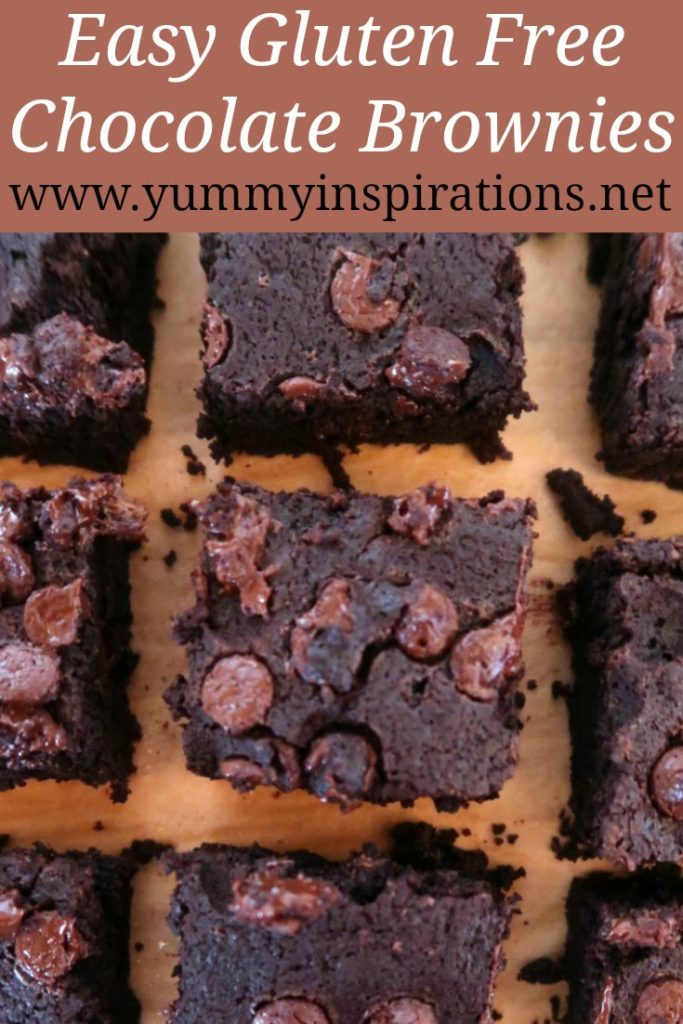 Double Chocolate Brownies Recipe - Easy Gluten Free Brownie Recipes with coconut flour plus the video tutorial.
