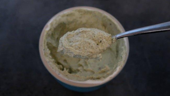 Easy 2 ingredient creamy pesto sauce recipe
