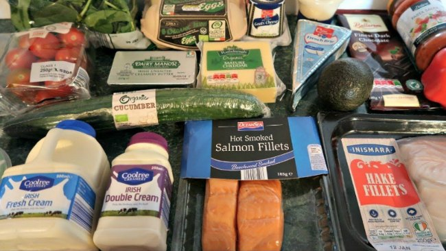 LIDL Keto Shopping List - low carb products and grocery foods