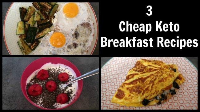 3 Ucuz Keto Kahvaltı Fikirleri - Bütçeye uygun hızlı kahvaltılar için kolay düşük karbonhidrat tarifleri