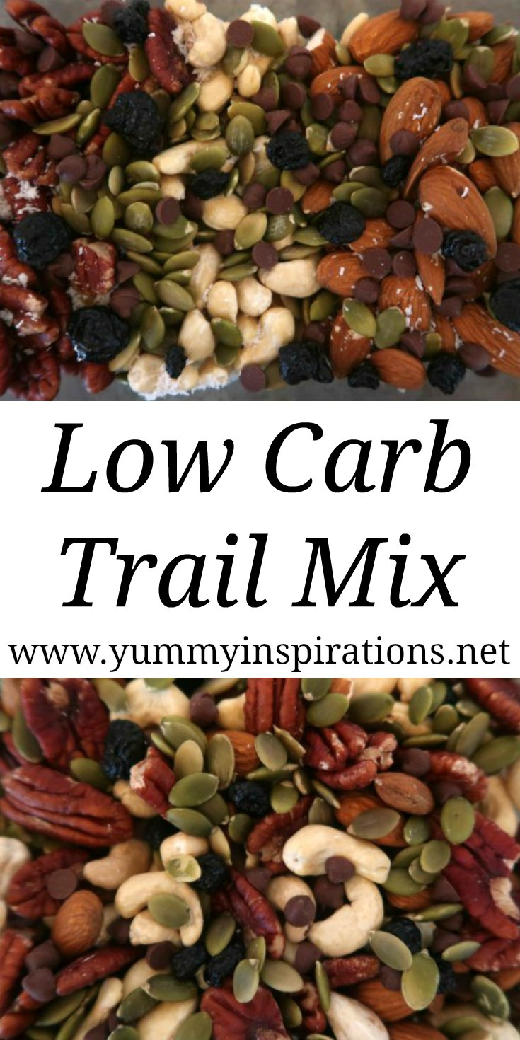 Low Carb Trail Mix – How to make a low carb, keto and sugar free DIY homemade trail mix snack ideas. With the video tutorial.