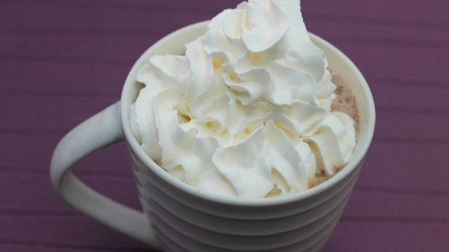 Desserts céto rapides - chocolat chaud