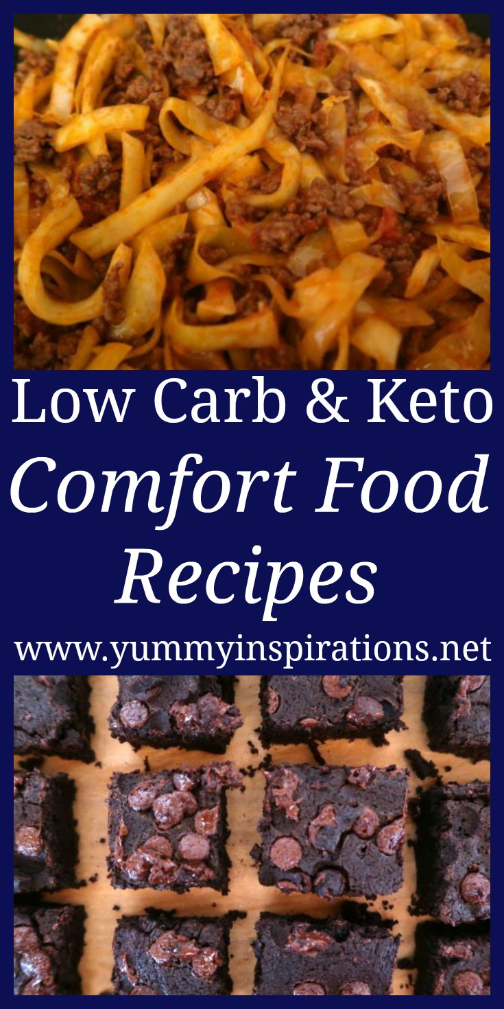 Keto Comfort Food Recipes - Quick Easy Low Carb Winter Meal Ideas for breakfast, lunch, dinner, snacks and desserts - with a video grocery haul.