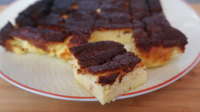 Lemon Custard Cake Recipe - How to make an easy homemade magic gluten free dessert