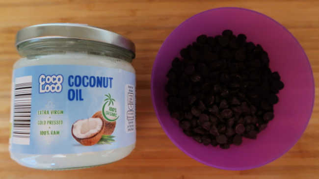 Chocolate Magic Shell Recipe - 2 Ingredients for homemade chocolate shell topping