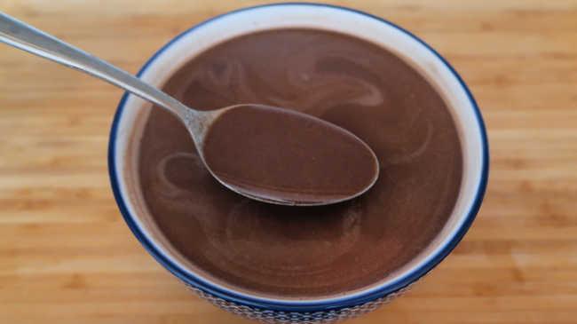 How to make chocolate custard