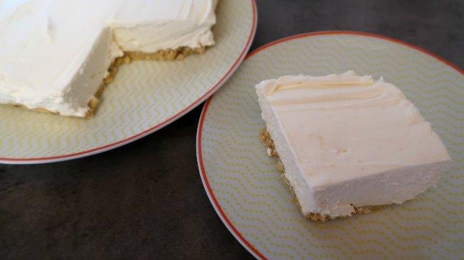 Low Carb Lemon Desserts - No bake cheesecake